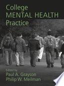 College Mental Health Practice