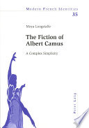 The Fiction of Albert Camus
