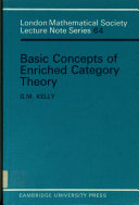 Basic Concepts of Enriched Category Theory