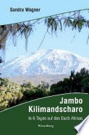 Jambo Kilimandscharo   In 6 Tagen auf das Dach Afrikas