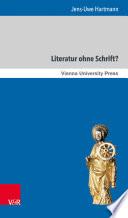 Literatur ohne Schrift