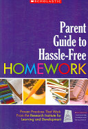 Parent Guide to Hassle free Homework