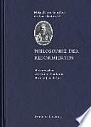 Philosophie der Reformierten
