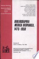 Bibliographia medica hispanica, 1475-1950 (III): Libros y folletos, 1701-1800
