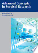 Advanced Concepts In Surgical Research book