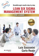 Lean Six Sigma Management System For Leaders