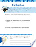 Read   Succeed Comprehension Level 2  Prior Knowledge Passages and Questions