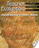 Teacher Evaluation To Enhance Professional Practice : even boredom to the hearts of...
