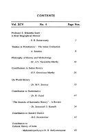 The Quarterly Journal of the Mythic Society  Bangalore  India