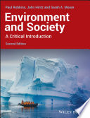 Environment and society : a critical introduction /
