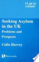 Seeking Asylum In The Uk book
