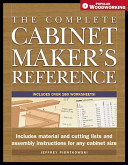 The Complete Cabinetmaker s Reference