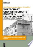 Wirtschaft und Wirtschaftspolitik in Deutschland