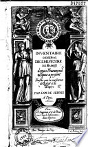 Inventaire g  n  ral de l histoire de France  depuis Pharamond jusques    pr  sent