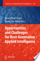 Opportunities And Challenges For Next Generation Applied Intelligence