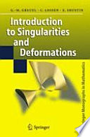 Introduction to Singularities and Deformations