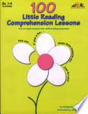 100 Little Reading Comprehension Lessons  ENHANCED eBook