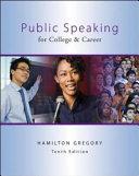 Public Speaking for College   Career