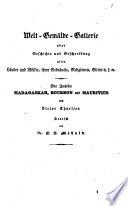 Die Inseln Madagaskar, Bourbon und Mauritius