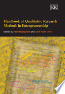 Handbook of Qualitative Research Methods in Entrepreneurship In Entrepreneurship Is An Important Contribution