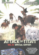 Attack On Titan 20 Special Edition W/DVD : * includes original variant dust...