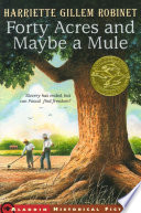 Forty Acres and Maybe a Mule Book PDF