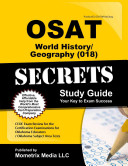 Osat World History Geography  018  Secrets Study Guide