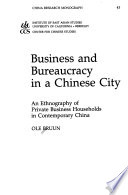 Business and bureaucracy in a Chinese city
