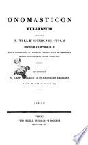 M. Tullii Ciceronis Opera quae superusunt omnia ex recensione Io. Casp. Orellii; poi! opus morte Orellii interruptum continuaverunt I. G. Baiterus et Car. Halmius