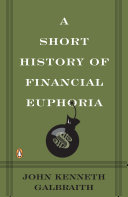 download ebook a short history of financial euphoria pdf epub