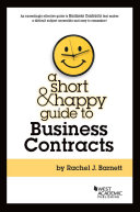 Short and Happy Guide to Business Contracts