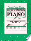 David Carr Glover Method For Piano Technic Primer