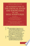 download ebook an introduction to the critical study and knowledge of the holy scriptures pdf epub