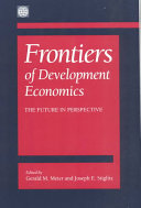 Frontiers of Development Economics