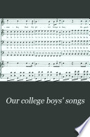 Our College Boys' Songs