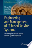 Engineering And Management Of It Based Service Systems