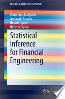 Statistical Inference for Financial Engineering
