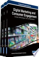 Book Digital Marketing and Consumer Engagement  Concepts  Methodologies  Tools  and Applications