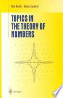 Topics In The Theory Of Numbers : of the integers, is a...