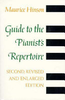 Guide To The Pianist S Repertoire