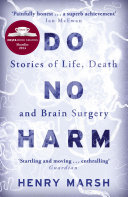 Do No Harm : sky arts award for literature shortlisted for the...