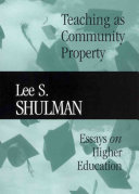 Teaching as community property