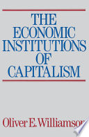 The Economic Intstitutions of Capitalism