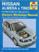 Nissan Almera And Tino Petrol Service And Repair Manual