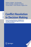 Conflict Resolution In Decision Making