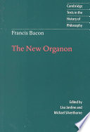 Francis Bacon  The New Organon
