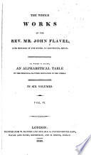 The Whole Works Of John Flavel