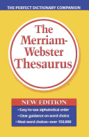 The Merriam Webster Thesaurus