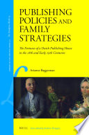 Publishing Policies And Family Strategies book