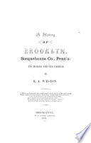 History of Brooklyn  Susquehanna Co   Penna